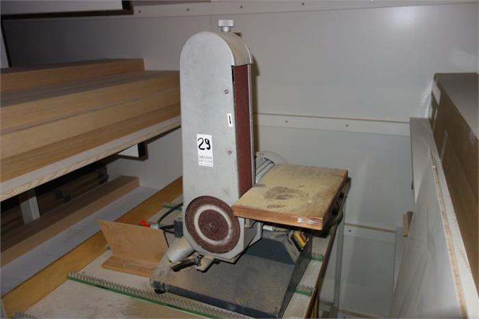 1 band und tellerschleifmaschine fabr optimum auktion christoph sattler. Black Bedroom Furniture Sets. Home Design Ideas